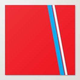 Red Slant Canvas Print