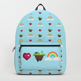 Somewhere Over The Rainbow pattern Backpack