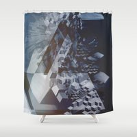 san francisco Shower Curtains featuring San Francisco by Subcon