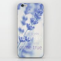 lavender iPhone & iPod Skins featuring Lavender  by SUNLIGHT STUDIOS  Monika Strigel