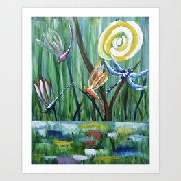 Dragonflies - My #1 Art Print