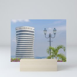 Guayaquil Cityscape from Cerro Santa Ana Mini Art Print