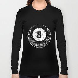 8Ball Skull Long Sleeve T-shirt