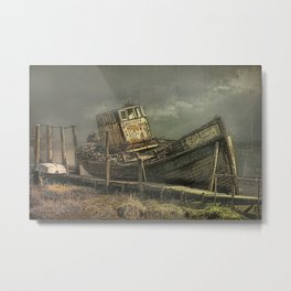 The Wreck of The Good Hope Metal Print
