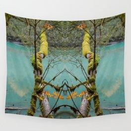 Medium Blue Wall Tapestry