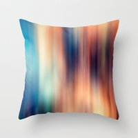 blur Throw Pillows featuring Blur by ALT + CO