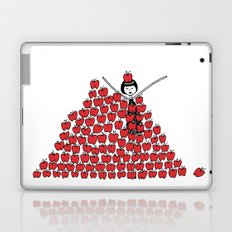 Eloise went overboard on the apple picking Laptop & iPad Skin