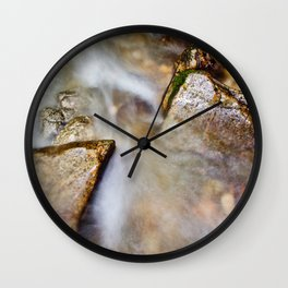 In the mood of zen iv Wall Clock