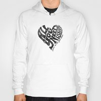 all you need is love Hoodies featuring Love is all you need by Kris Petrat Design