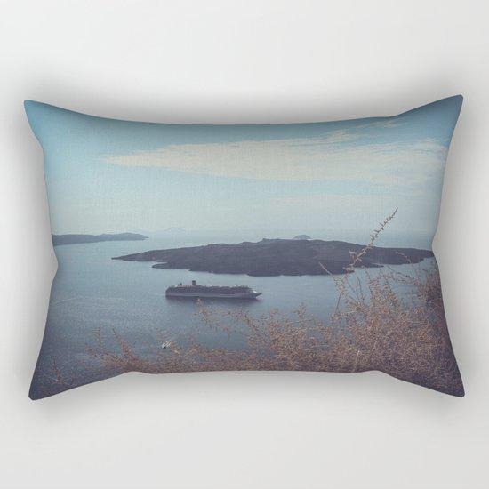 Santorini, Greece 15 Rectangular Pillow