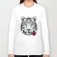 rose Long Sleeve T-shirts featuring Rose by Roland Banrevi