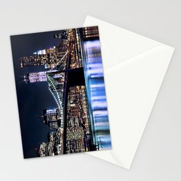 When Light and Dark Collides Stationery Cards
