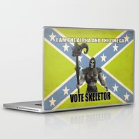 skeletor Laptop & iPad Skins featuring Vote Skeletor by Itomi Bhaa