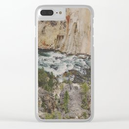 The River Below Clear iPhone Case