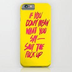 MEAN / popart version Slim Case iPhone 6s