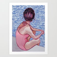 The Vacation Art Print