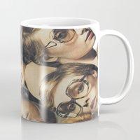 hydra Mugs featuring Hydra by WeLoveHumans
