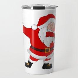 Santa Dab Travel Mug