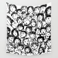 chaos Wall Tapestries featuring Chaos! by Maisy