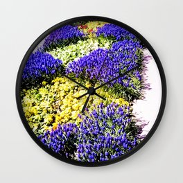 Intense purple. Wall Clock