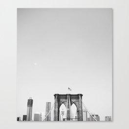 Fourth of July on Brooklyn Bridge Canvas Print