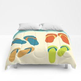 The Flip Flops Family Comforters