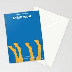 No230 My Animal House minimal movie poster Stationery Cards