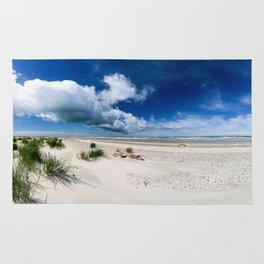 Grenen Beach Panorama Rug