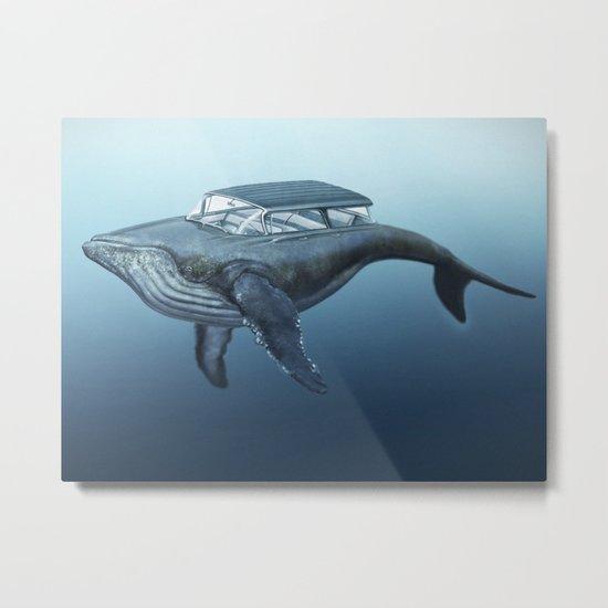 The Mercury Cruiser of the Sea Metal Print