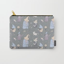 Wizards on grey Carry-All Pouch