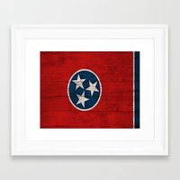 tennessee Framed Art Prints featuring Tennessee by C Liza B