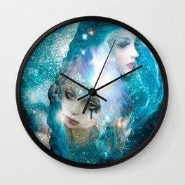 Blue Blood Wall Clock