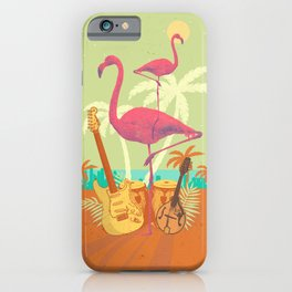 TROPICAL CITY iPhone Case