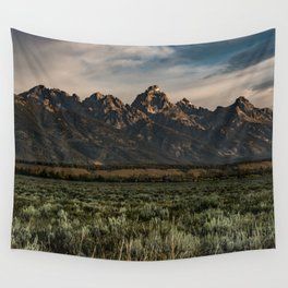 Teton Morning Wall Tapestry