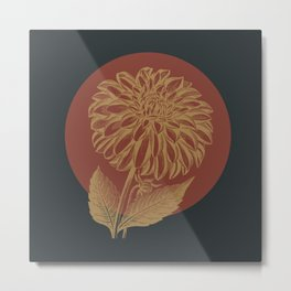 Fall Botanicals Metal Print