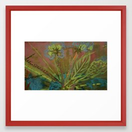 Seeding Out Framed Art Print