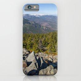 Karkonosze iPhone Case