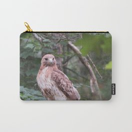 Hawk looking front Carry-All Pouch