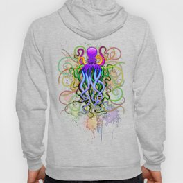 Octopus Psychedelic Luminescence Hoody