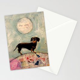 Hank the amazing Doxie Stationery Cards