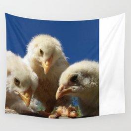 fluffy chicken chicks Wall Tapestry