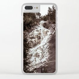 Shannon Falls Clear iPhone Case