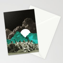 Space show Stationery Cards