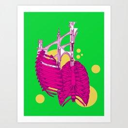 Adam's Rib Art Print