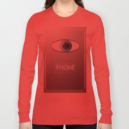 Eye Phone Long Sleeve T-shirt