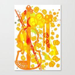 Colour_Me_Pop Canvas Print