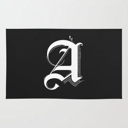 Letter A Rug