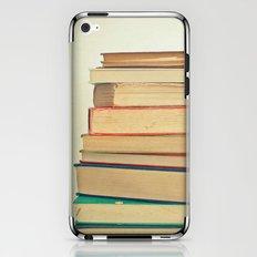 Stack of Books iPhone & iPod Skin