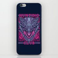 gore iPhone & iPod Skins featuring Hunting Club: Gore Magala by MeleeNinja
