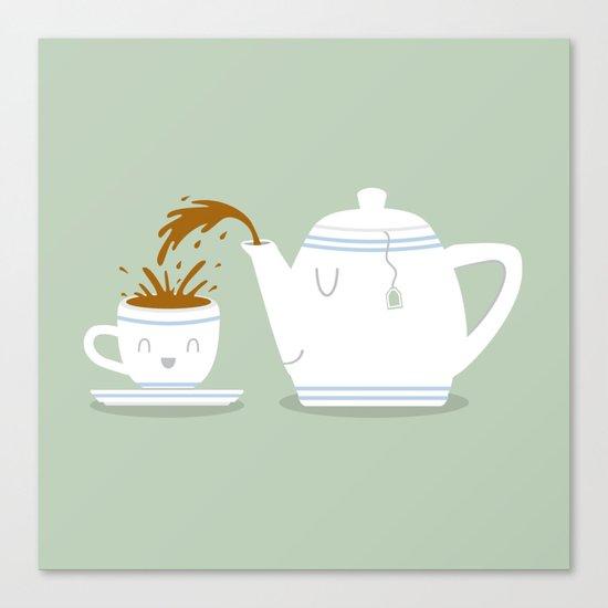 Tea Time! Canvas Print